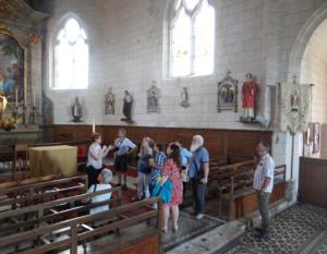 12- Église Saint-Martin de Talcy (cliché Alexandra Mignot)