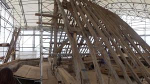17- Restauration de toute la charpente de l'église de Villexanton (cliché Alexandra Mignot)