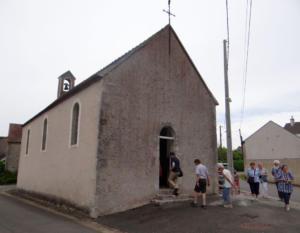18- Chapelle Saint-Hubert  au hameau de Villaugon à Mer (cliché Alexandra Mignot)