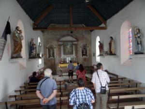19- Intérieur de la chapelle Saint-Hubert  au hameau de Villaugon à Mer (cliché Alexandra Mignot)