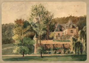 02- Fargot par Gervais Launay en 1866 (Albums Launay, bibliothèque de Vendôme)