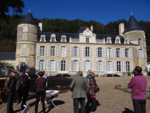 13-Saint-Quentin-les-Troo. Château de Chalay (Cliché Alexandra Mignot)