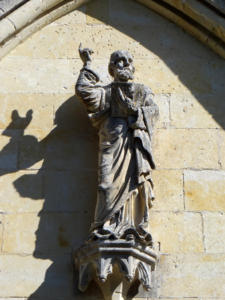 18-Sculpture au-dessus de l'entrée (Cliché Alexandra Mignot)