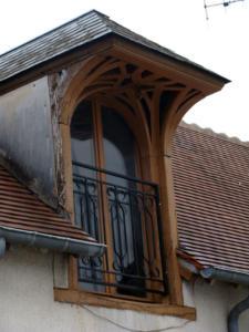 03- Fenêtre, 15 rue du Pressoir  (Cliché Alexandra Mignot)
