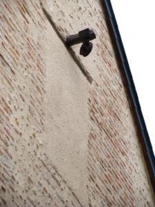 08- Poulie grenier, rue des bons payeurs - rue des mauvais payeurs  (Cliché Alexandra Mignot)