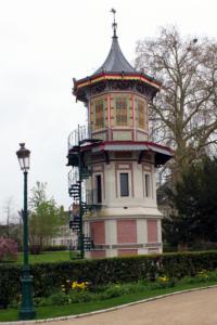 34- La pagode restaurée (Cliché Jean-Marc Delecluse)
